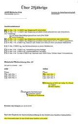 Sanktionsprüfbogen der ARGE MK - Beispielklagen