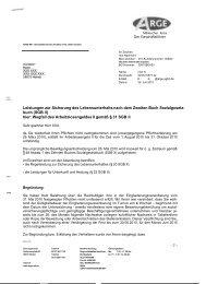 Sanktionsbescheid - Beispielklagen