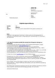 ARGE MK Eingliederungsvereinbarung - Beispielklagen