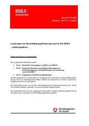SGB II Hinweise