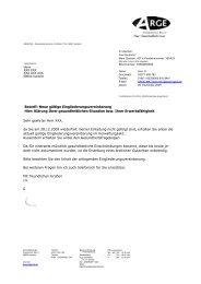 Betreff: Neue gültige Eingliederungsvereinbarung ... - Beispielklagen