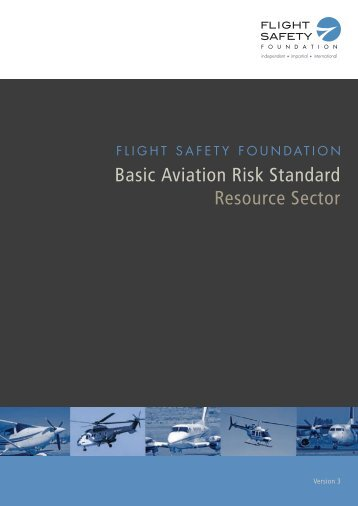 Basic Aviation Risk Standard Resource Sector - Flight Safety ...