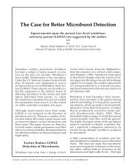 The Case for Better Microburst Detection - Flight Safety Foundation