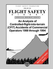 An Analysis of Controlled-flight-into-terrain (CFIT) Accidents of ...