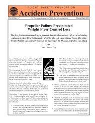 Propeller Failure Precipitated Wright Flyer Control Loss