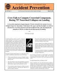 Crew Fails to Compute Crosswind Component, Boeing 757 ...