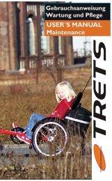 Trets (Stahl ? bis 08/2007) Anleitung deutsch (PDF ... - Hase Bikes