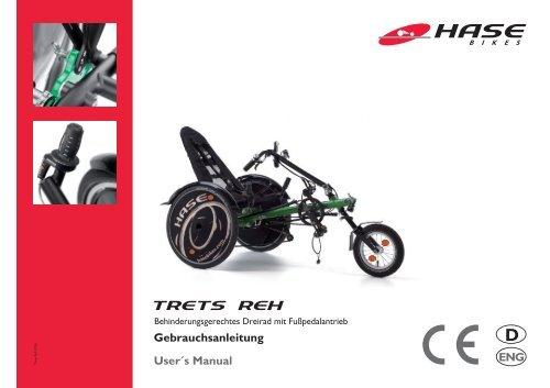 Trets Anleitung Deutsch Englisch Version 1 12 Pdf Hase Bikes
