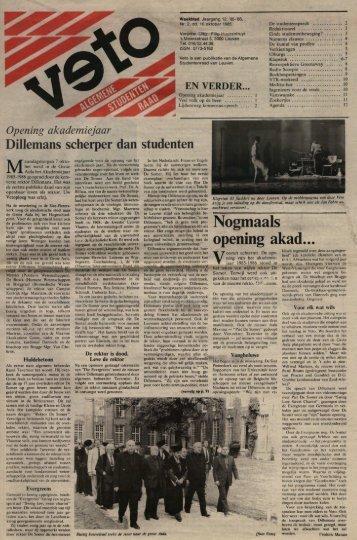Nogmaals opening akad... - archief van Veto