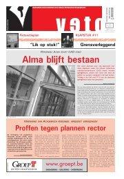 Alma blijft bestaan - archief van Veto