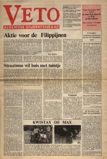 Aktie voor de Filippijnen - archief van Veto
