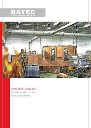 automatische löschanlagen für werkzeugmaschinen - Batec ...