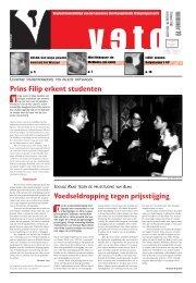 Prins Filip erkent studenten Voedseldropping ... - archief van Veto