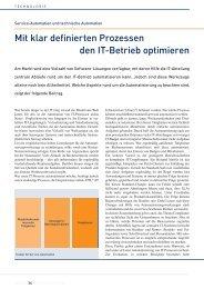 Fachbeitrag Service Automation - Cloud-Practice.de