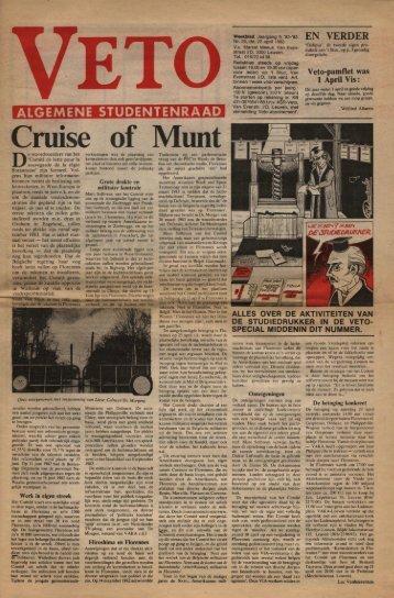 of ·Munt Cruise - archief van Veto