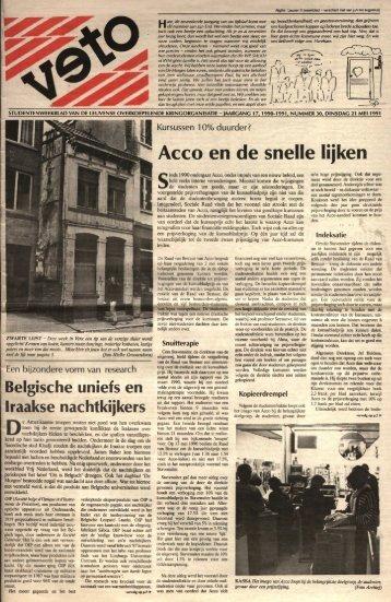 Acco en de snelle lijken - archief van Veto