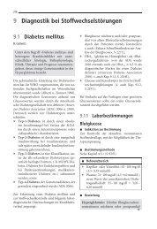 9 Diagnostik bei Stoffwechselstörungen