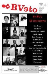 15 BV's 12 interviews - archief van Veto