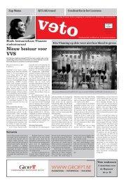 Nieuw bestuur voor VVS - archief van Veto