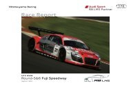 Race Report - Hitotsuyama Racing
