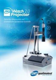 Optisches Messsystem und automatische kontaktlose ... - Qualimatest