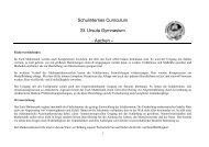 Schulinternes Curriculum St. Ursula Gymnasium - Aachen –