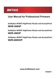 User Manual for Professional Firmware - Cloud