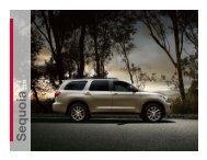 Toyota 2013 Sequoia Brochure