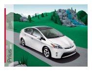 2013 Toyota Prius complete brochure