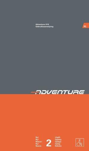 Adventure A10 Gebruiksaanwijzing Ny! Utgift Ny! Opplag ... - Invacare