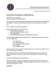 Bedömarinformation stjärntävling 2011-2012