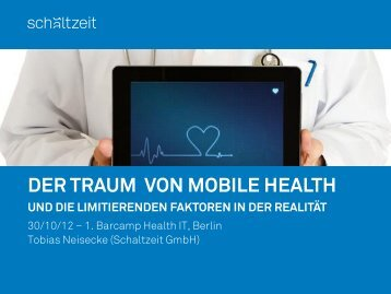 Der Traum von Mobile Health - Amiando