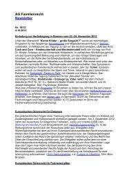 newsletter-2012-10.pdf - Arbeitsgemeinschaft Familienrecht im DAV