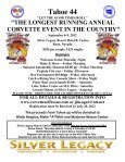 """""""MARK YOUR CALENDARS"""" TAHOE 44 - SEPTEMBER 6 - 9, 2012 ... - Page 2"""