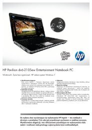 PSG Consumer 1C10 HP Notebook Datasheet - Action