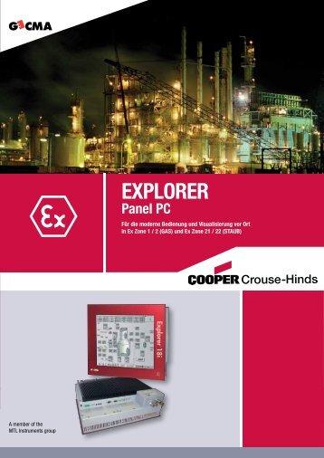 EXPLORER Panel-PC - MTL-Instruments GmbH