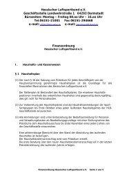 Finanzordnung (PDF Dokument) - Hessischer Luftsportbund eV