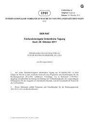DER RAT Fünfundvierzigste Ordentliche Tagung Genf, 20. Oktober ...