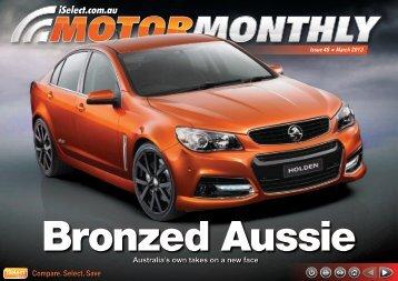Bronzed Aussie