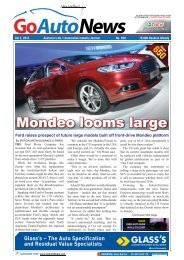Mondeo looms large