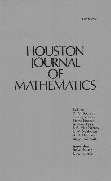 Survey 1979: Equational Logic - Department of Mathematics ...