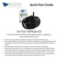 Quick Start Guide - EcoTech Marine Asia