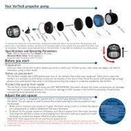 Your VorTech propeller pump Before you start ... - EcoTech Marine