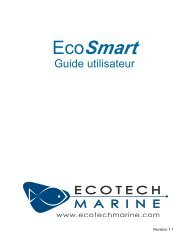 not apply to you. EcoTech Marine's war¬ranty is governed