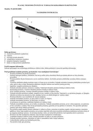 WAH3303-0050 plauku tiesinimo znyples.pdf - UAB Krinona - prekių ...
