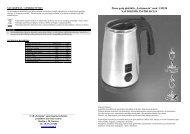 """Pieno putų plakiklis """"Lattemento"""" mod. LM150 NAUDOJIMO ..."""