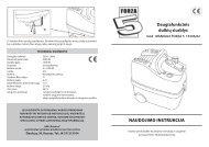 MANUALE FORZA 5_15336.pdf - UAB Krinona - prekių instrukcijos ...