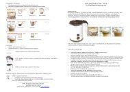 Lattemento LM140.pdf - UAB Krinona - prekių instrukcijos - Krinona