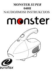 040H Monster Super.pdf - UAB Krinona - prekių instrukcijos - Krinona