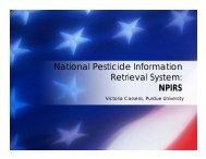 National Pesticide Information Retrieval System - US Environmental ...